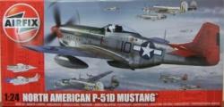 Airfix 1:24 - N.A. Mustang P-51D