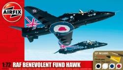 Airfix Gift Set 1:72 - RAF Benevolent Fund Hawk