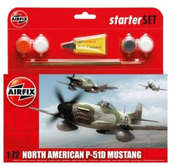 Airfix Gift Set 1:72 - P-51D Mustang