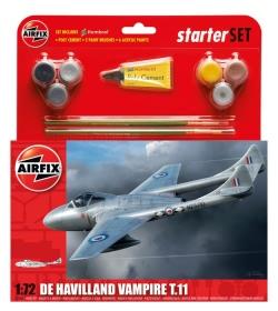 Airfix Gift Set 1:72 - De Havilland Vampire T11