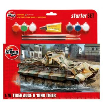 Airfix Gift Set 1:76 - King Tiger