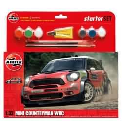 Airfix Gift Set 1:76 - MINI Countryman WRC
