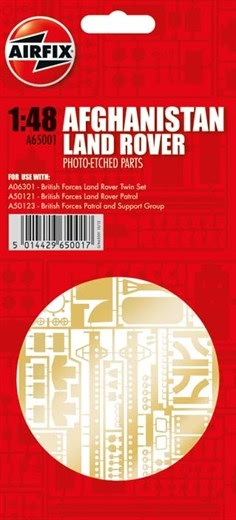 Airfix 1:48 - Land Rover Photo Etch Parts