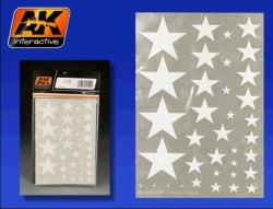 AK Interactive Transfers - US Stars (All Scales)