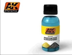 AK Interactive - Brass Photoetch Burnishing Fluid