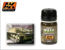 AK Interactive - Dark Yellow Wash (x6)