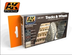 AK Interactive - Track and Wheels Set