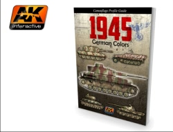 AK Interactive Book - German Colors, Camouflage Profile Guide, Volume 1