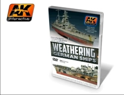 AK Interactive DVD - Weathering German Ships