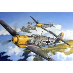 Dragon 1:32 - German Messerschmitt Bf109 Wing-Tech Kit