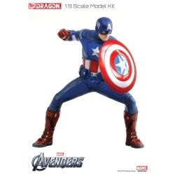 Dragon Avengers - Captain America - Model Kit