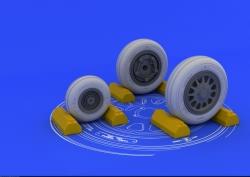 Eduard Brassin 1:32 - F-117A Wheels (Trumpeter)