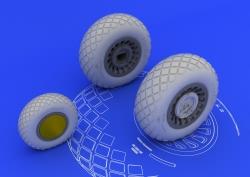 Eduard Brassin 1:32 - B-25H/J Wheels (HK Models)