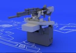 Eduard Brassin 1:48 - ll-2 UBT Gun (Tamiya)