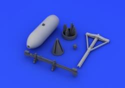 Eduard Brassin 1:48 - Spitfire 500lb Bomb Set (Eduard)