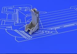 Eduard Brassin 1:72 - MiG-15 Ejection Seat (Eduard)