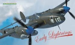 Eduard LTD EDT 1:48 - Early Lightnings P-38F / P-38G / P-38H