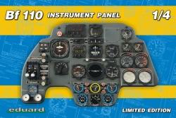 Eduard Kits 1:4 - Bf 110 Instrument Panel