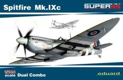 Eduard 1:144 - Spitfire Mk.IXc  DUAL COMBO