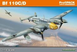 Eduard Profipack 1:72 - Bf 110 C/D