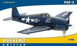 Eduard Weekend 1:48 - Grumman F6F-3 Hellcat