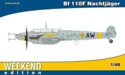 Eduard Weekend 1:48 - Bf 110F Nachtj�ger Weekend