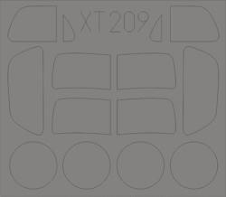 Eduard Masks 1:35 - Simca 5 Staff Car (Tamiya)