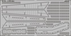 Eduard Photoetch 1:32 - A-4M slats (Trumpeter)