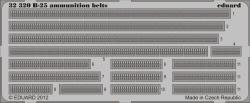 Eduard Photoetch 1:32 - B-25 ammunition belts (HK Models)