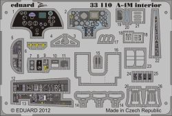 Eduard Photoetch (Zoom) 1:32 - A-4M interior S.A. (Trumpeter)