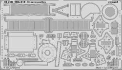 Eduard Photoetch 1:48 - MiG 21-F-13 Accessories (Trumpeter)