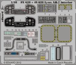 Eduard Photoetch 1:48 - Lynx AH.7 Interior S.A. (Airfix)