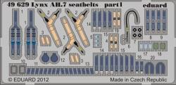 Eduard Photoetch 1:48 - Lynx AH.7 Seatbelts (Airfix)