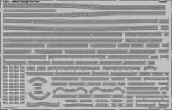 Eduard Photoetch 1:350 - Yamato Railings (Tamiya TAM78025)