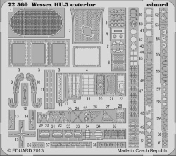 Eduard Photoetch 1:72 - Wessex HU.5 Exterior (Italeri)