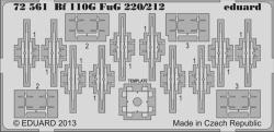 Eduard Photoetch 1:72 - Bf 110G FuG 220/212 (Eduard)