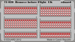 Eduard Photoetch 1:72 - Remove before Flight UK
