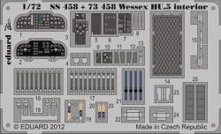Eduard Photoetch (Zoom) 1:72 - Wessex HU.5 Interior S.A. (Italeri)