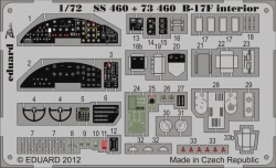 Eduard Photoetch (Zoom) 1:72 - B-17F Interior S.A. (Revell)