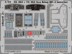 Eduard Photoetch (Zoom) 1:72 - Sea King HC-4 Interior S.A. (Cyber Hobby)