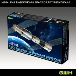 Great Wall Hobby 1:48 - Chinese Space Lab Tiangong-1 & Shenzhou-8