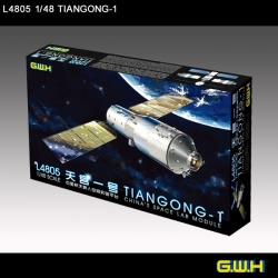 Great Wall Hobby 1:48 - Chinese Space Lab Module Tiangong-1