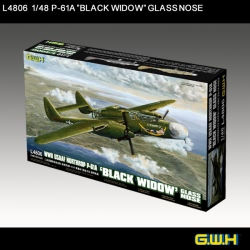 Great Wall Hobby 1:48 - WWII Northrop P-61A BlackWidow Glass Nose