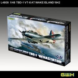 Great Wall Hobby 1:48 - Douglas TBD-1 Devastator VT-6 at Wake Island