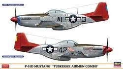 Hasegawa 1:72 - P-51D Mustang Tuskegee Airmen Combo