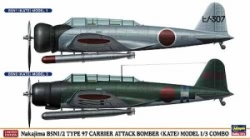 Hasegawa 1:72 - Nakajima B5N1/2 Type 97 Carrier Attack Bomber