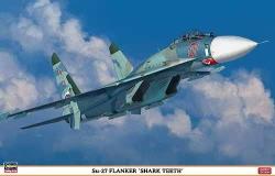 Hasegawa 1:72 - Sukhoi Su-27 Flanker Shark Teeth