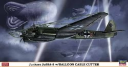 Hasegawa 1:72 - Junkers Ju88A-8 w/ Balloon Cable Cutter