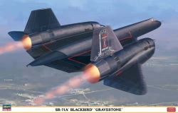 H-2001 - Hasegawa 1:72 - SR-71A Blackbird Gravestone