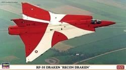 Hasegawa 1:72 - RF-35 Draken Recon